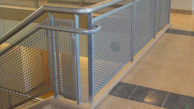 Alumina Railings Architectural Ornamental Glass Railings