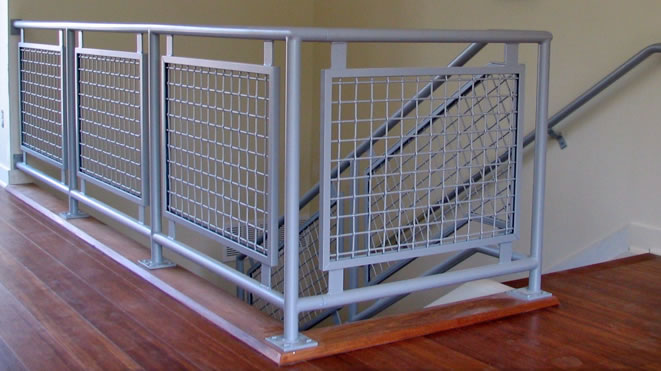 Alumina Railings Residential Panel Railings